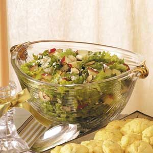 Blue Cheese Tossed Salad Recipe