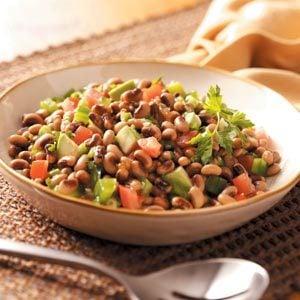 Black-Eyed Pea Salad with Avocado and Jalapeno Recipe