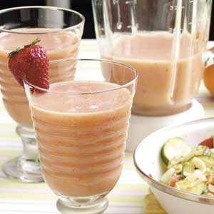 Strawberry Orange Smoothies