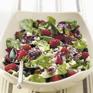 Special Radicchio-Spinach Salad Recipe