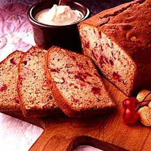 Cherry/Almond Quick Bread Recipe