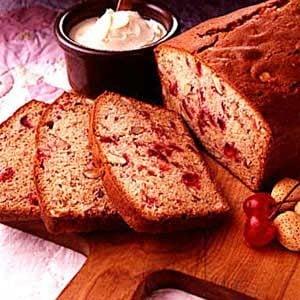 Cherry/Almond Quick Bread Recipe