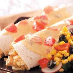 Cheese and Chicken Enchiladas Recipe