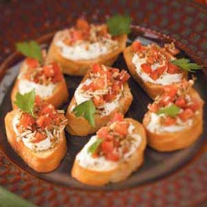 In-a-Snap Bruschetta Recipe