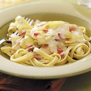 Artichoke Chicken Fettuccine Recipe