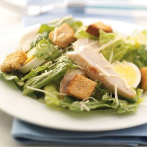 Chicken Caesar Salad for Four Recipe