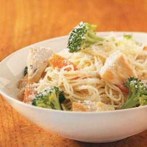 Angel Hair Pasta with Chicken Recipe