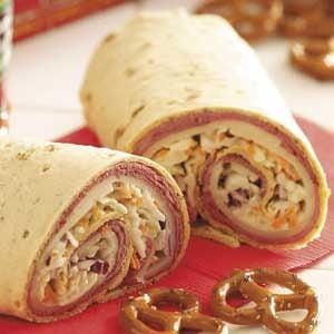 Roast Beef Roll-Ups Recipe