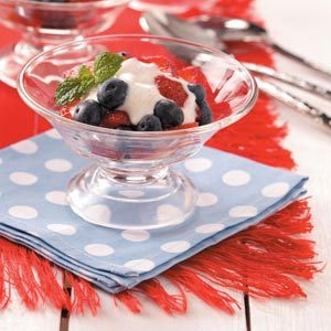 Berry Yogurt Cups Recipe