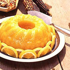 Golden Lemon Cake Recipe