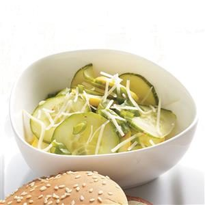 Cucumber & Squash Salad Recipe