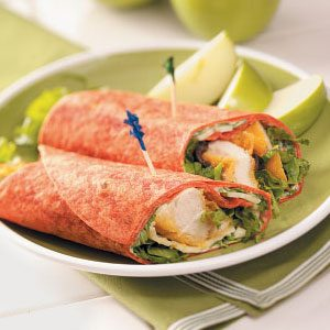 Chicken Tender Wraps Recipe