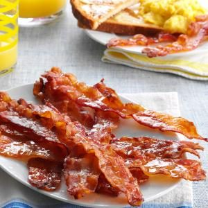 Easy Glazed Bacon Recipe