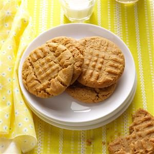 Honey-Peanut Butter Cookies Recipe