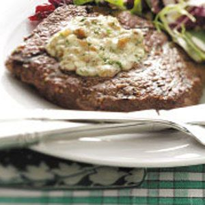 Sirloin with Blue Cheese Butter Recipe