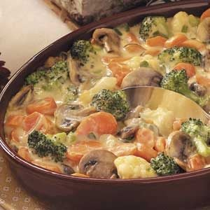 Baked Vegetable Medley Recipe