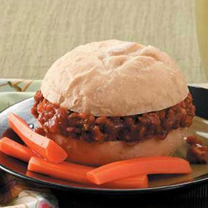Pumpkin Sloppy Joes for 2