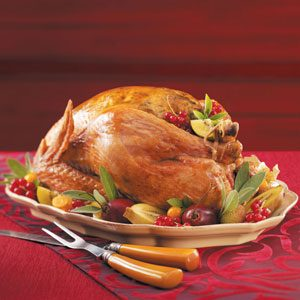 Apple & Herb Roasted Turkey Recipe