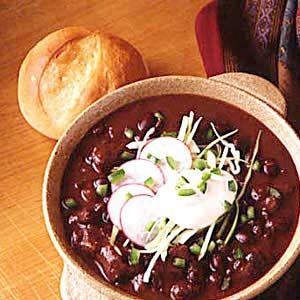 Dutch Oven Black Bean Soup Recipe
