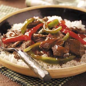 Sweet Pepper Venison Stir-Fry