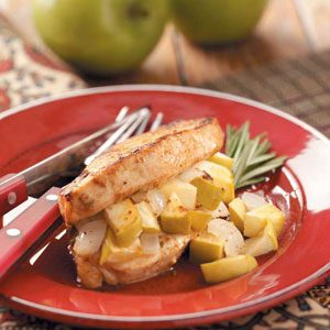 Stuffed Apple Pork Chops Recipe