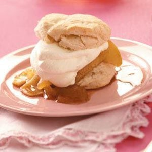 Apple Cream Shortcakes
