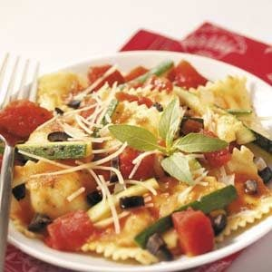 Veggie Cheese Ravioli Recipe