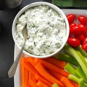 Creamy Feta-Spinach Dip Recipe