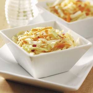 Tangy Ginger Slaw Recipe