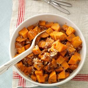 Coconut-Pecan Sweet Potatoes Recipe