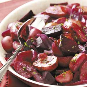 Can't-Be-Beet Roasted Potato Salad Recipe