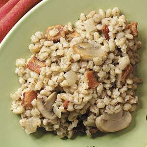 Barley Pilaf with Bacon Recipe
