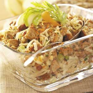 Wholesome Apple-Hazelnut Stuffing
