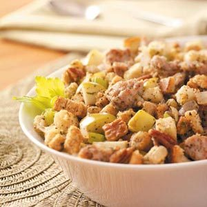 Slow-Cooked Sausage Dressing Recipe