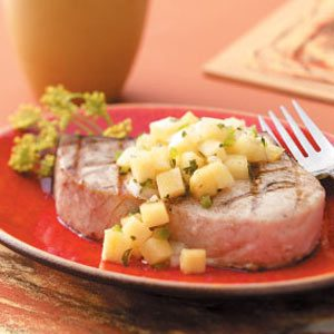 Golden Pineapple Salsa Recipe