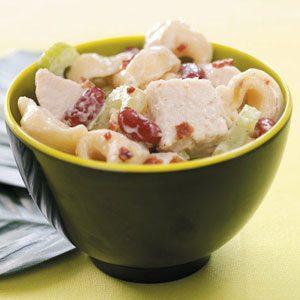 Ranch Chicken Tortellini Salad Recipe