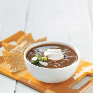 Black Bean-Pumpkin Soup