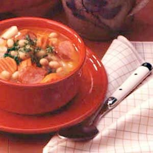 Favorite Kielbasa Bean Soup Recipe