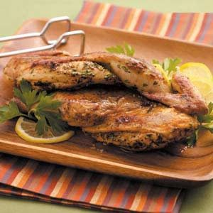 Cornish Hen Under a Brick Recipe