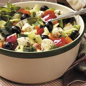 Peppery Vegetable Salad Recipe