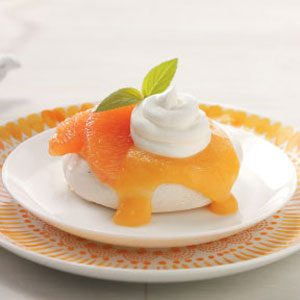 Grapefruit Meringue Shells
