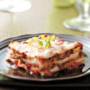 Meatless Zucchini Lasagna Recipe