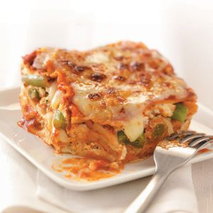 Cheesy Veggie Lasagna Recipe