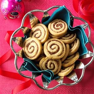 Date-Nut Pinwheels Recipe