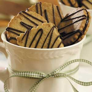 Hazelnut-Espresso Sandwich Cookies Recipe