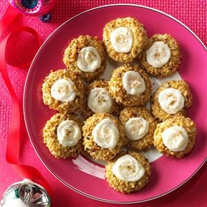 Eggnog Thumbprints Recipe