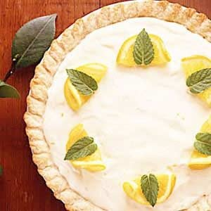 Orange Chiffon Pie Recipe