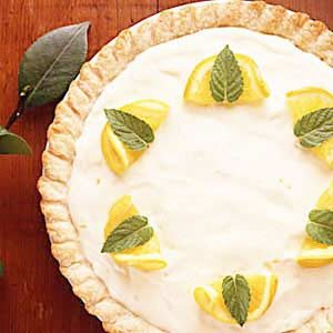 Orange Chiffon Pie Recipe