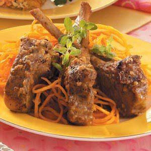 Rosemary-Rubbed Lamb Chops Recipe