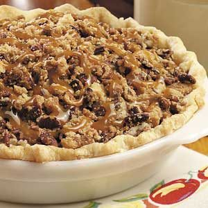 Caramel-Pecan Apple Pie Recipe